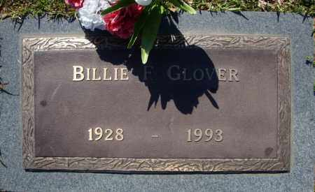 GLOVER, BILLIE F. - Faulkner County, Arkansas | BILLIE F. GLOVER - Arkansas Gravestone Photos