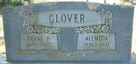 GLOVER, FRANK H. - Faulkner County, Arkansas | FRANK H. GLOVER - Arkansas Gravestone Photos