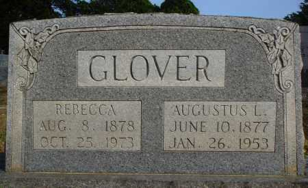 GLOVER, AUGUSTUS L. - Faulkner County, Arkansas | AUGUSTUS L. GLOVER - Arkansas Gravestone Photos
