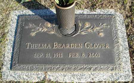 BEARDEN GLOVER, THELMA - Faulkner County, Arkansas | THELMA BEARDEN GLOVER - Arkansas Gravestone Photos