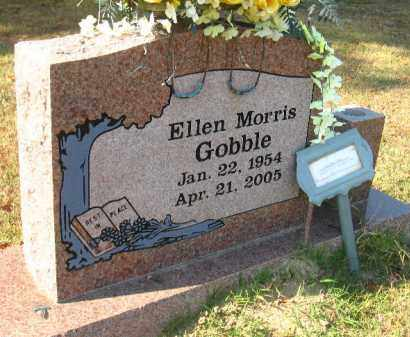 MORRIS GOBBLE, ELLEN - Faulkner County, Arkansas | ELLEN MORRIS GOBBLE - Arkansas Gravestone Photos