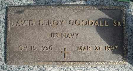 GOODALL, SR (VETERAN), DAVID LEROY - Faulkner County, Arkansas | DAVID LEROY GOODALL, SR (VETERAN) - Arkansas Gravestone Photos