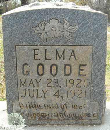 GOODE, ELMA - Faulkner County, Arkansas | ELMA GOODE - Arkansas Gravestone Photos
