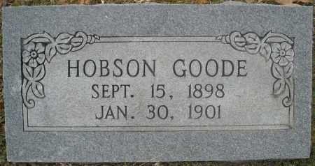 GOODE, HOBSON - Faulkner County, Arkansas   HOBSON GOODE - Arkansas Gravestone Photos