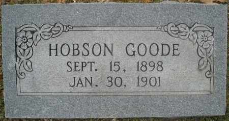 GOODE, HOBSON CHESTER - Faulkner County, Arkansas | HOBSON CHESTER GOODE - Arkansas Gravestone Photos