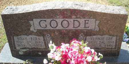 GOODE, NOAH EZRA - Faulkner County, Arkansas | NOAH EZRA GOODE - Arkansas Gravestone Photos