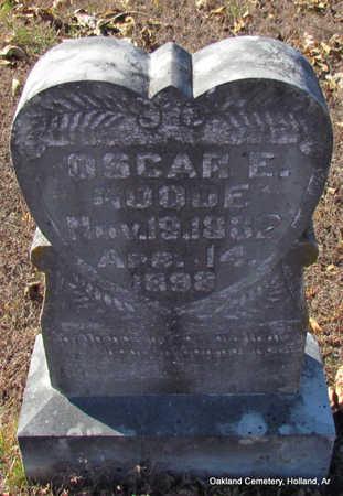 GOODE, OSCAR E. - Faulkner County, Arkansas | OSCAR E. GOODE - Arkansas Gravestone Photos