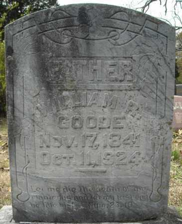 GOODE (VETERAN CSA), WILLIAM RICHARD - Faulkner County, Arkansas | WILLIAM RICHARD GOODE (VETERAN CSA) - Arkansas Gravestone Photos