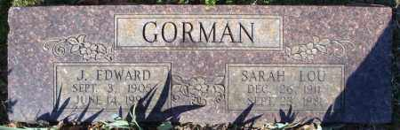GORMAN, SARAH LOU - Faulkner County, Arkansas | SARAH LOU GORMAN - Arkansas Gravestone Photos
