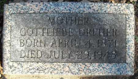 DREHER, GOTTLIEBE - Faulkner County, Arkansas | GOTTLIEBE DREHER - Arkansas Gravestone Photos