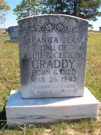 GRADDY, JUANITA JEAN - Faulkner County, Arkansas | JUANITA JEAN GRADDY - Arkansas Gravestone Photos