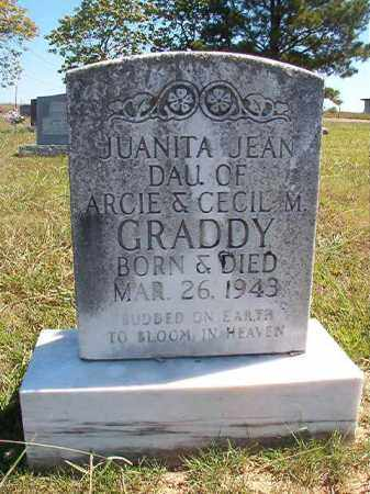 GRADDY, JUANITA JEAN - Faulkner County, Arkansas | JUANITA JEAN GRADDY - Arkansas Gravestone Photos