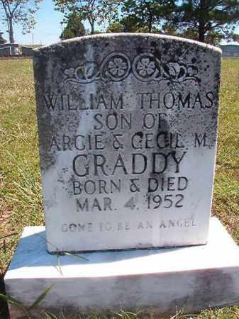 GRADDY, WILLIAM THOMAS - Faulkner County, Arkansas | WILLIAM THOMAS GRADDY - Arkansas Gravestone Photos