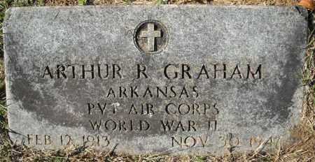 GRAHAM  (VETERAN WWII), ARTHUR R - Faulkner County, Arkansas | ARTHUR R GRAHAM  (VETERAN WWII) - Arkansas Gravestone Photos
