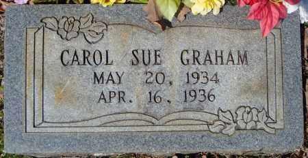 GRAHAM, CAROL SUE - Faulkner County, Arkansas | CAROL SUE GRAHAM - Arkansas Gravestone Photos