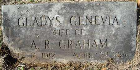 GRAHAM, GLADYS GENEVIA - Faulkner County, Arkansas | GLADYS GENEVIA GRAHAM - Arkansas Gravestone Photos