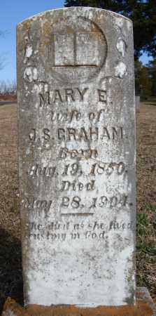 GRAHAM, MARY E. - Faulkner County, Arkansas | MARY E. GRAHAM - Arkansas Gravestone Photos