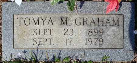 GRAHAM, TOMYA M. - Faulkner County, Arkansas | TOMYA M. GRAHAM - Arkansas Gravestone Photos
