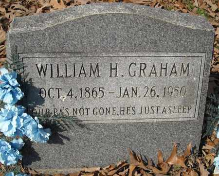 GRAHAM, WILLIAM H. - Faulkner County, Arkansas | WILLIAM H. GRAHAM - Arkansas Gravestone Photos