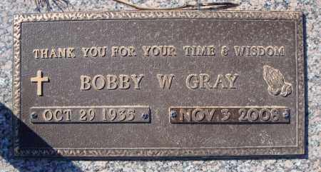 GRAY, BOBBY W. - Faulkner County, Arkansas | BOBBY W. GRAY - Arkansas Gravestone Photos