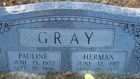 GRAY, HERMAN E. - Faulkner County, Arkansas | HERMAN E. GRAY - Arkansas Gravestone Photos