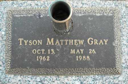 GRAY, TYSON MATTHEW - Faulkner County, Arkansas | TYSON MATTHEW GRAY - Arkansas Gravestone Photos