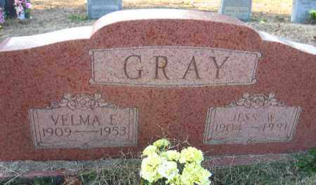 GRAY, VELMA E. - Faulkner County, Arkansas | VELMA E. GRAY - Arkansas Gravestone Photos