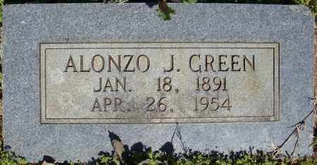GREEN, ALONZO J. - Faulkner County, Arkansas | ALONZO J. GREEN - Arkansas Gravestone Photos