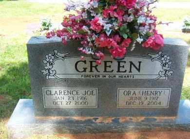GREEN, CLARENCE - Faulkner County, Arkansas | CLARENCE GREEN - Arkansas Gravestone Photos