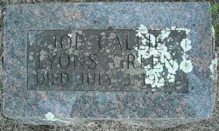 GREEN, JOE GALLIE LYONS - Faulkner County, Arkansas | JOE GALLIE LYONS GREEN - Arkansas Gravestone Photos