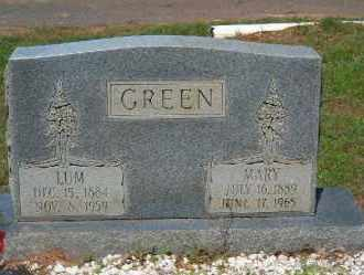 GREEN, MARY - Faulkner County, Arkansas | MARY GREEN - Arkansas Gravestone Photos