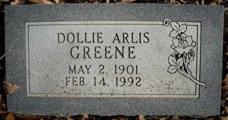 GREENE, DOLLIE ARLIS - Faulkner County, Arkansas | DOLLIE ARLIS GREENE - Arkansas Gravestone Photos