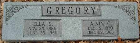 GREGORY, ALVIN C. - Faulkner County, Arkansas | ALVIN C. GREGORY - Arkansas Gravestone Photos