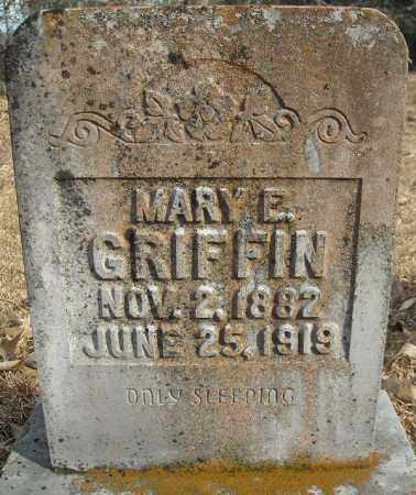 GRIFFIN, MARY E. - Faulkner County, Arkansas | MARY E. GRIFFIN - Arkansas Gravestone Photos
