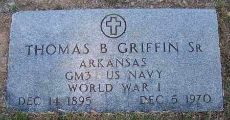 GRIFFIN (VETERAN WWI), THOMAS B - Faulkner County, Arkansas | THOMAS B GRIFFIN (VETERAN WWI) - Arkansas Gravestone Photos