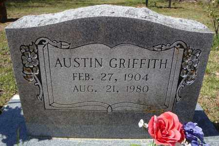 GRIFFITH, AUSTIN - Faulkner County, Arkansas | AUSTIN GRIFFITH - Arkansas Gravestone Photos