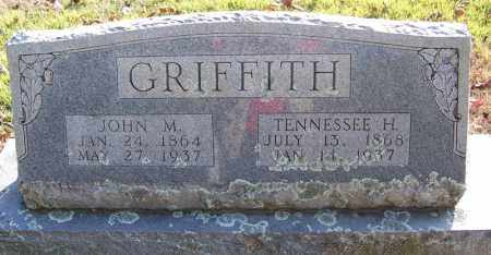 GRIFFITH, TENNESSEE H. - Faulkner County, Arkansas | TENNESSEE H. GRIFFITH - Arkansas Gravestone Photos