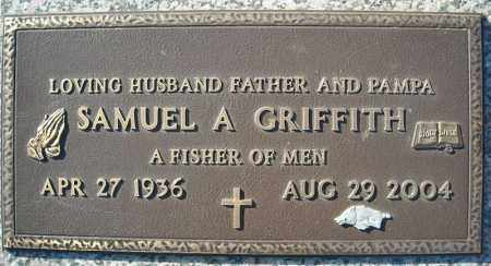 GRIFFITH, SAMUEL A. - Faulkner County, Arkansas | SAMUEL A. GRIFFITH - Arkansas Gravestone Photos