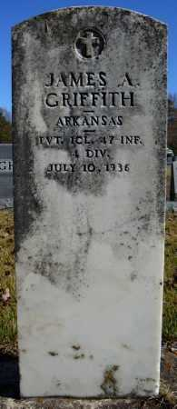 GRIFFITH (VETERAN), JAMES A - Faulkner County, Arkansas | JAMES A GRIFFITH (VETERAN) - Arkansas Gravestone Photos