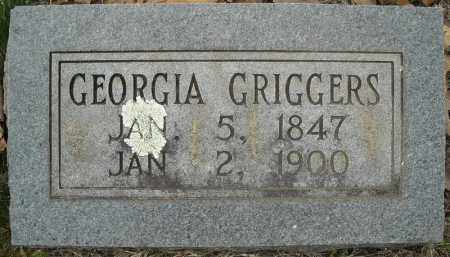 GRIGGERS, GEORGIA - Faulkner County, Arkansas | GEORGIA GRIGGERS - Arkansas Gravestone Photos