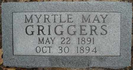 GRIGGERS, MYRTLE MAY - Faulkner County, Arkansas | MYRTLE MAY GRIGGERS - Arkansas Gravestone Photos