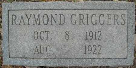 GRIGGERS, RAYMOND - Faulkner County, Arkansas | RAYMOND GRIGGERS - Arkansas Gravestone Photos
