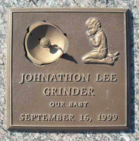 GRINDER, JOHNATHON LEE - Faulkner County, Arkansas | JOHNATHON LEE GRINDER - Arkansas Gravestone Photos