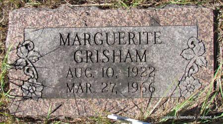 GRISHAM, MARGUERITE - Faulkner County, Arkansas | MARGUERITE GRISHAM - Arkansas Gravestone Photos
