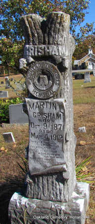 GRISHAM, MARTIN LUTHER - Faulkner County, Arkansas | MARTIN LUTHER GRISHAM - Arkansas Gravestone Photos