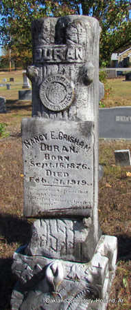 GRISHAM, NANCY E. - Faulkner County, Arkansas | NANCY E. GRISHAM - Arkansas Gravestone Photos
