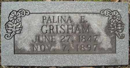 GRISHAM, PALINA ELEANOR - Faulkner County, Arkansas | PALINA ELEANOR GRISHAM - Arkansas Gravestone Photos