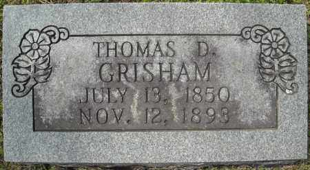 GRISHAM, THOMAS D. - Faulkner County, Arkansas | THOMAS D. GRISHAM - Arkansas Gravestone Photos