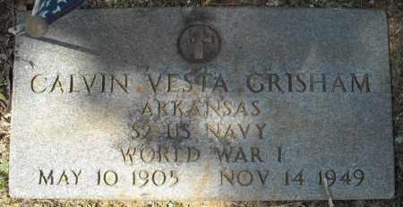 GRISHAM (VETERAN WWI), CALVIN VESTA - Faulkner County, Arkansas | CALVIN VESTA GRISHAM (VETERAN WWI) - Arkansas Gravestone Photos