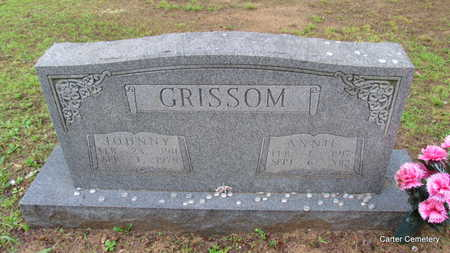 GRISSOM, JOHNNY - Faulkner County, Arkansas | JOHNNY GRISSOM - Arkansas Gravestone Photos